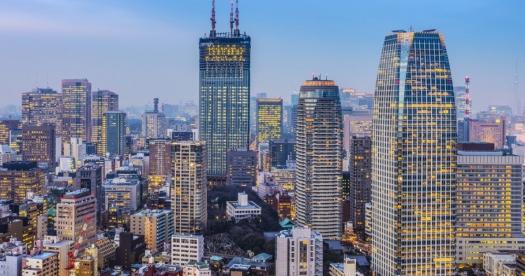 Tokyo Skyline (Credit - Sean Pavone)